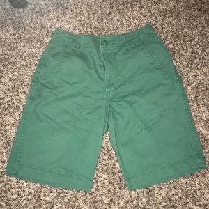 Old navy green shorts